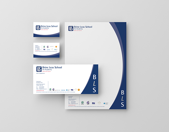 school business cards